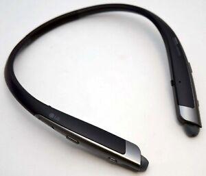 LG Tone Platinum HBS-1100 Wireless Stereo Curved Neckband Headphones BLACK