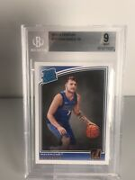 2018-19 Donruss Rated Rookie #177 LUKA DONCIC Rookie RC BGS 9 MINT