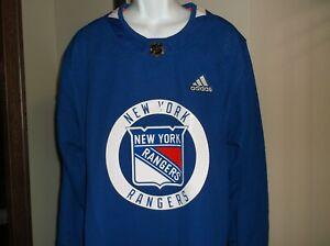 New York Rangers Adidas Hockey Jersey Men's Size 54 nwt Free Ship