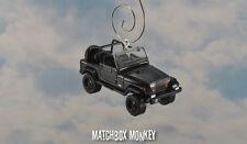 1994 Jeep Wrangler Open Top Custom Ornament 1/64 XJ YJ Black Out Sahara '92 '93