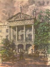 LONDON. Hanover-Terrace, Regent's Park, NW1. By Walter Bayes 1946 old print