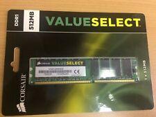 Corsair Value Select 512MB DDR1 Memory