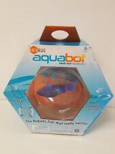 HEX BUG aquabot smart fish Technology The Robotic Fish That Really Swims