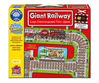 Orchard Toys Educational Jigsaw - Giant Railway - Brand New