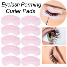 10Pcs Reusable Eyelash Lift Perming Silicone Curler Curling Pads Patches Shields