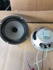 """vintage speakers 8""""  Pair 8 Ohm. Tested And Works Perfect! Anico"""