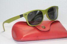 Ray Ban RB 4207 6099/88 Tech LiteForce NEW Wayfarer 55-17 Sunglasses Lime Green