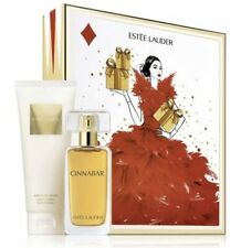 Estee Lauder Cinnabar Exotic Duo Perfume Body Lotion Gift Set New in Box