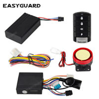 EASYGUARD motorcycle alarm remote start stop GPS tracker APP Android &IOS system