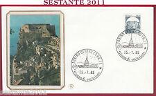 ITALIA FDC FILAGRANO CASTELLO DI SCILLA 1985 ANNULLO TORINO U71