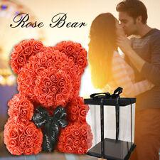 Rose Bear Teddy Bear Large Huge Luxury 38CM Pe Foam Rose Valentine's Day Gift