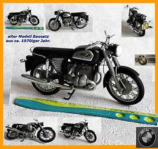 altes Modell Motorrad BMW R75/5 alter Bausatz aus 1970iger Jahr selten rar alt !