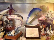 Royal Worcester rare Game Fish  DOLPHIN 3753 Mahimahi / Dorado  Van Ruyckevelt