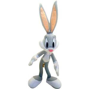 Looney Tunes Show Bugs Bunny Rabbit Plush Toy Warner Bros Poseable 46cm