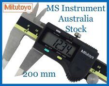 "Genuine NEW Mitutoyo  8""/200mm Digital Calipers  500-197-30 Australia Stock"