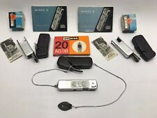 Minox B Spy Film Camera with Flashes, Bulbs, Cases, Manuals and Film