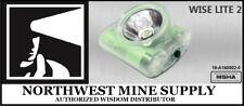 Wisdom Wiselite2 MSHA CERTIFIED cordless cap light lamp
