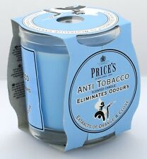 FRESH AIR PRICES INDOOR ANTI TOBACCO FRAGRANCES CANDLE GLASS JAR 30HOUR FR100616