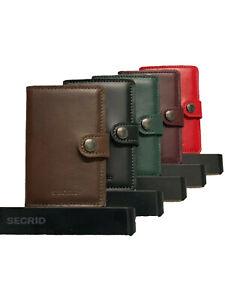 Secrid Miniwallet Geldbörse vintage RFID-Schutz Auswahl
