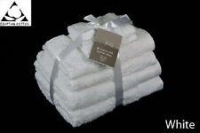 WHITE - EGYPTIAN COTTON 650GSM 6pc TOWEL BALE BUNDLE SET