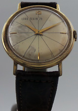 Vintage Lord Elgin 23 10K Yellow Gold Manual Wind Circa 1950's Watch Only