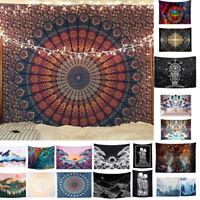 Mandala Tapestry Square Wall Hanging Decor Cover Carpet Yoga Mat Beach Towel US