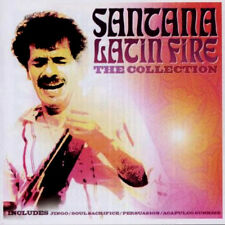 SANTANA LATIN FIRE THE COLLECTION NEW CD JINGO,SOUL SACRIFICE,PERSUASION + MORE