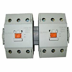 4PRO CEM-65 Contactor Set, 3P 65A 230/400V 50-60Hz