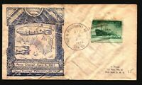 US 1946 Macon Crash Cover / Creased & Stained - L364