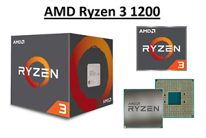 AMD Ryzen 3 1200 Quad Core Processor 3.1 - 3.4 GHz, Socket AM4, 65W CPU