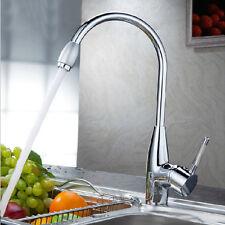 Mischbatterie Wasserhahn Küchenarmatur Spültisch Armatur Einhebelmischer Küche