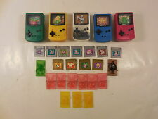 LOT OF BURGER KING NINTENDO POKEMON GAMEBOY COLOR KID'S MEAL TOY PREMIUMS