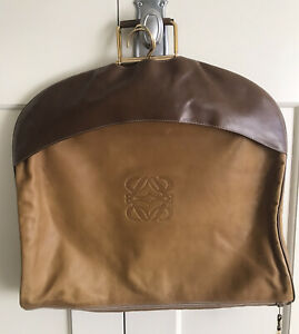 LOEWE Spain Buttersoft Leather Garment Travel Bag