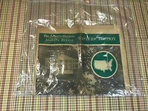 Vintage 1964 Masters Edition Newspaper from Augusta Chronicle