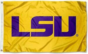 FLAG 3X5 LSU Tigers Football Louisiana State University 3 x 5 Banner Fast USA