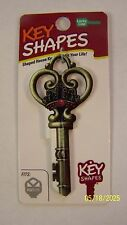 Skeleton Key Key Shapes Kwikset house key blank.
