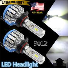 2X LED Headlight 9012 HIR2 70W 7000LM Xenon White 6500K Bulbs Kit Lamp Car Truck
