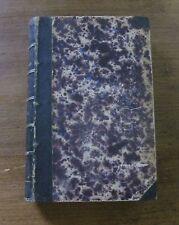 LES CONFESSIONS - Rousseau - 1853 Paris French - Leather - philosophy