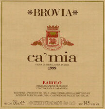 """1 magnum da 1,5 lt BOTTLES BAROLO DOCG 2011 """" BREA CA' MIA"""" BROVIA"""
