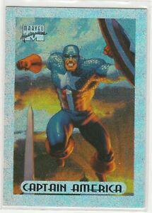 1994 Marvel Entertainment Marvel Masterpieces Holofoil card #1 Captain America