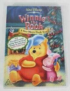 Walt Disney Winnie the Pooh A Very Merry Pooh Christmas DVD Region 4