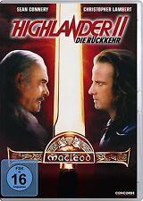 HIGHLANDER 2 II DIE RÜCKKEHR Christopher Lambert SEAN CONNERY DVD neuf