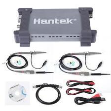 Hantek 6204BD 4CH PC 200MHz Oscilloscope 1GSa/s USB PC + 25MHz Signal Generator