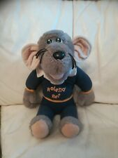 Vintage Circa 1983 Hasbro Roland Rat Blue Top Soft Plush Toy Teddy 37cm