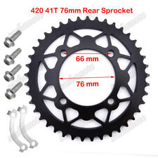 420 76mm 41T Rear Sprocket For Chinese Pit Dirt Bike XR50 CRF50 CRF70 KLX110 YCF