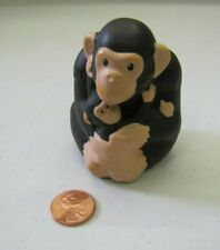 Fisher Price Little People Zoo Talkers - CHIMPANZEE with BABY - Interactive