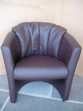 Sessel  Einzelsessel mit Kunstlederbezug Kissenpolster hinten  Gutmann Factory B