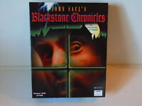 PC JOHN SAUL'S BLACKSTONE CHRONICLES WIN 95/98 an adventure in terror BIG BOX