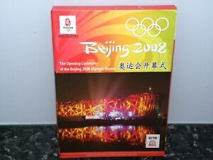 Beijing 2008 Olympics The Opening Ceremony (All Regions) DVD – VGC