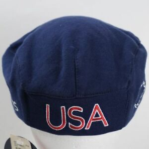 S/M  2004 US USA Olympics Roots beret hat cap summer + 2020 / 2021 Olympian card